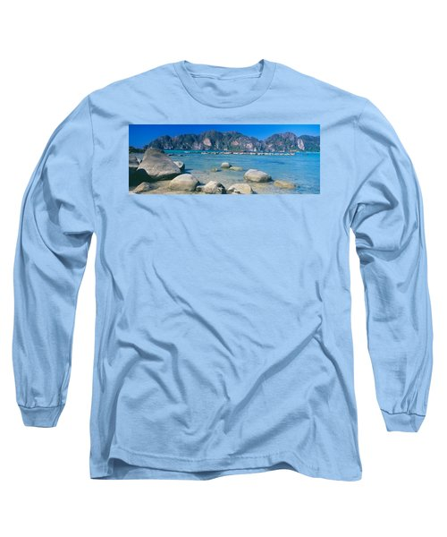 Rocks On The Coast, Phi Phi Islands Long Sleeve T-Shirt