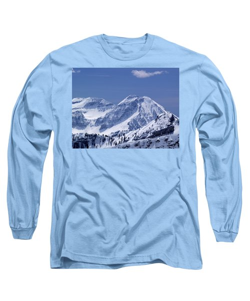 Rocky Mountain High Long Sleeve T-Shirt by Bill Gallagher