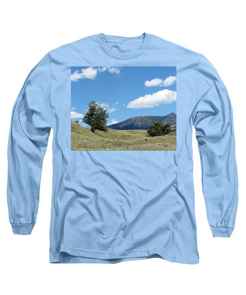 Rolling Hills Long Sleeve T-Shirt by Laurel Powell