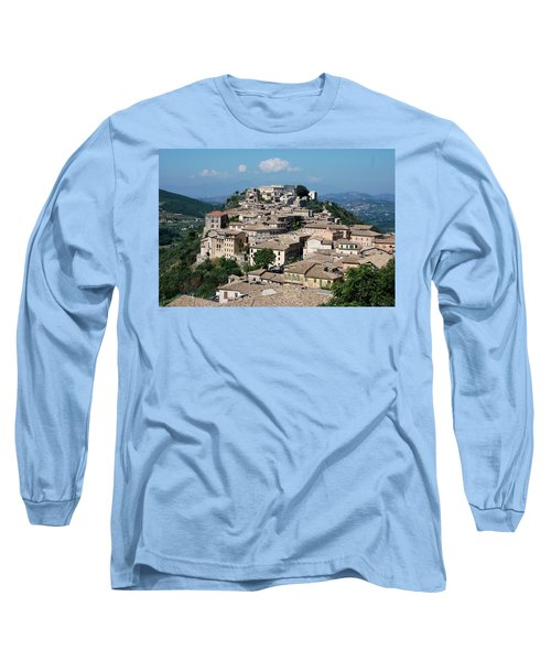 Rooftops Of The Italian City Long Sleeve T-Shirt