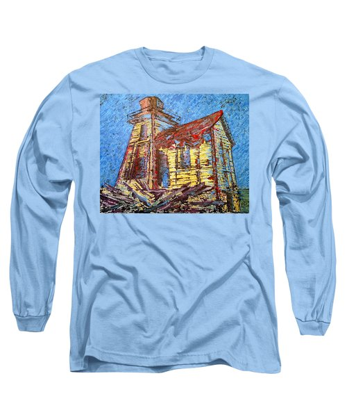 Ross Island Lighthouse Long Sleeve T-Shirt
