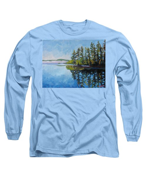 Round Lake Mirror Long Sleeve T-Shirt