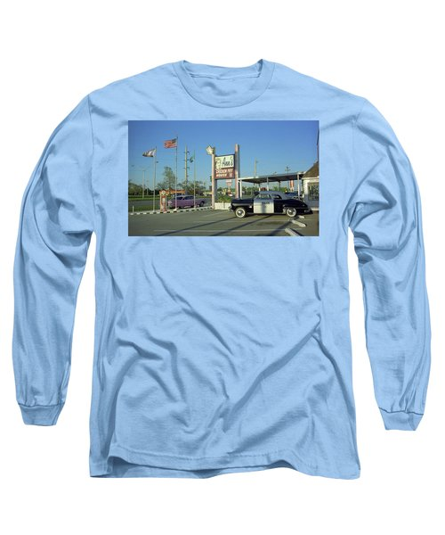 Route 66 - Anns Chicken Fry House Long Sleeve T-Shirt