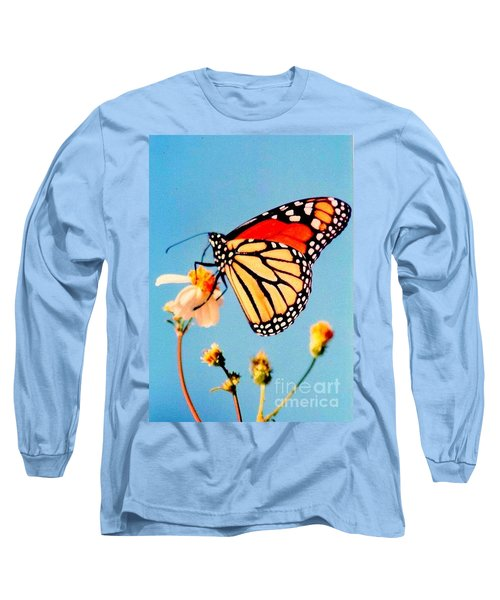 Long Sleeve T-Shirt featuring the photograph Mississippi Royal Monarch  by Michael Hoard