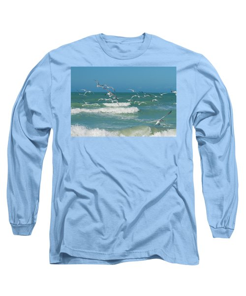 Royal Tern Frenzy Long Sleeve T-Shirt
