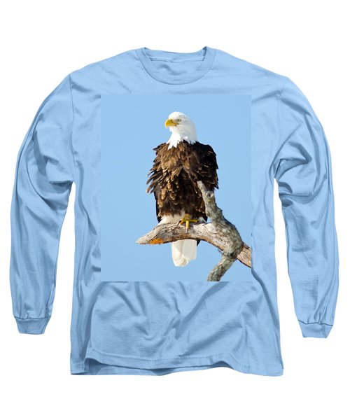 Ruffled Eagle Long Sleeve T-Shirt