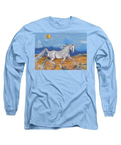 Running Horse M Long Sleeve T-Shirt