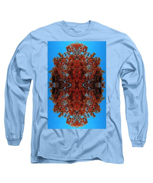 Long Sleeve T-Shirt featuring the photograph Rust And Sky 5 - Abstract Art Photo by Marianne Dow