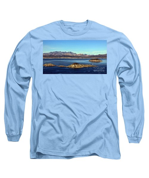 Sail Away Long Sleeve T-Shirt by Tammy Espino