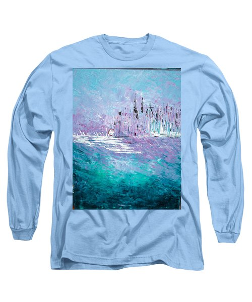 Sailing South - Sold Long Sleeve T-Shirt by George Riney