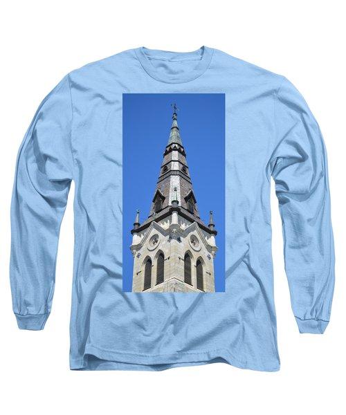 San Antonio Chuch 01 Long Sleeve T-Shirt by Shawn Marlow