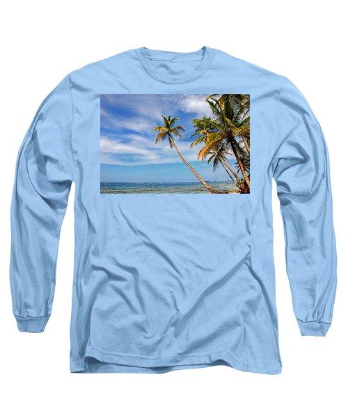 San Blas Dreaming Long Sleeve T-Shirt by Bob Hislop