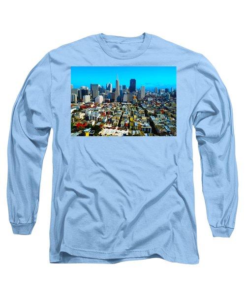 San Fran Colors Long Sleeve T-Shirt
