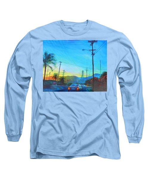 San Gabriel Rush Long Sleeve T-Shirt by Bonnie Lambert
