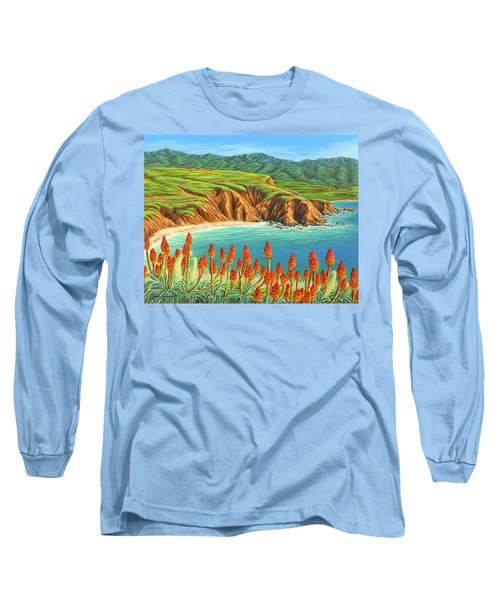 San Mateo Springtime Long Sleeve T-Shirt by Jane Girardot