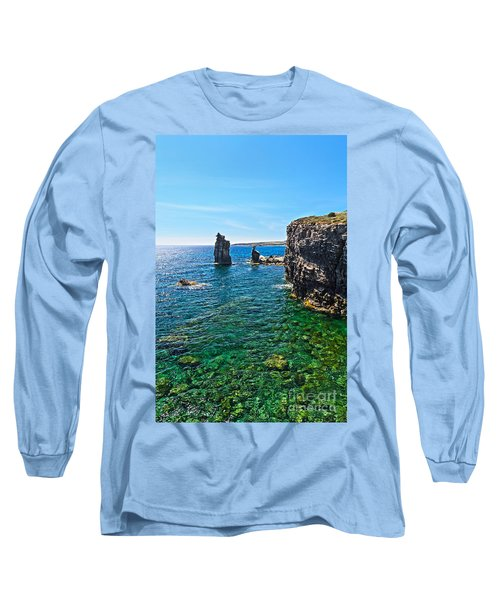 San Pietro Island - Le Colonne Long Sleeve T-Shirt