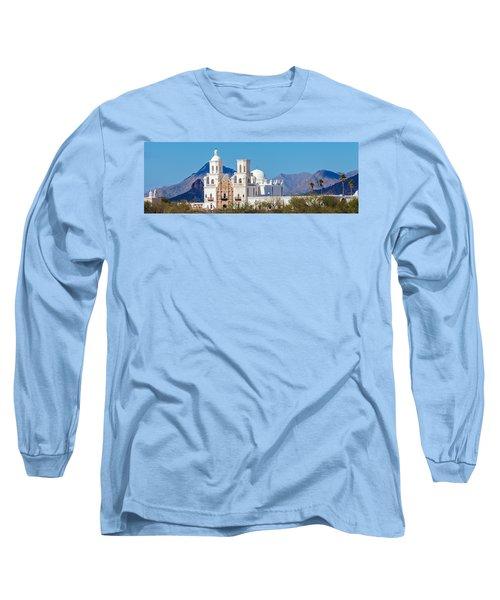 San Xavier Del Bac Mission Long Sleeve T-Shirt