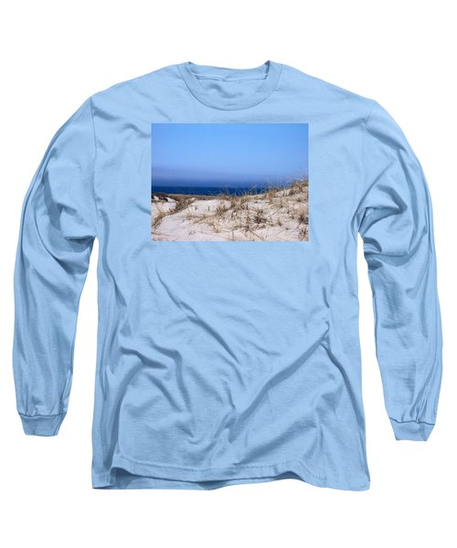 Sand And Sky Long Sleeve T-Shirt by Catherine Gagne
