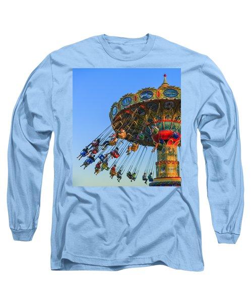 Santa Cruz Seaswing At Sunset 5 Long Sleeve T-Shirt