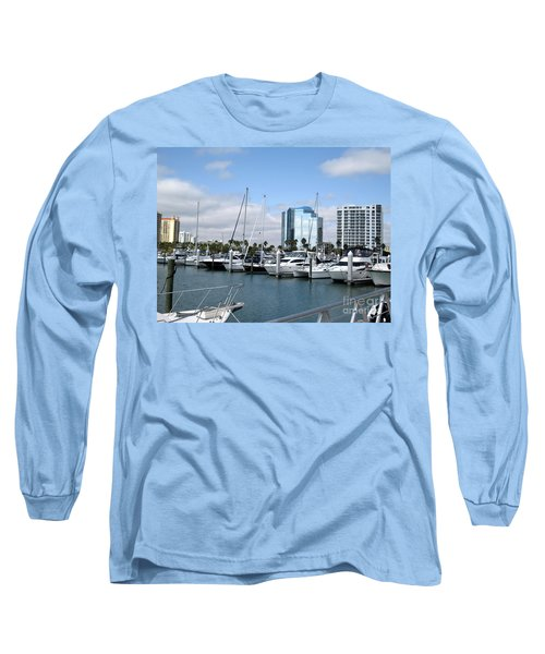 Long Sleeve T-Shirt featuring the photograph Sarasota Fl Usa by Oksana Semenchenko