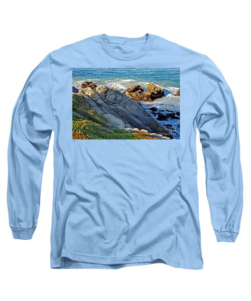 Sarcophagus Formation On Seaside Rocks Long Sleeve T-Shirt