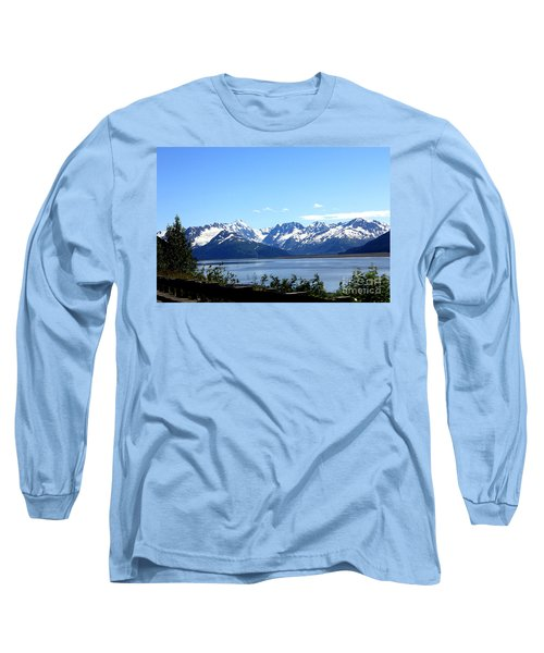 Long Sleeve T-Shirt featuring the photograph Scenic Byway In Alaska by Kathy  White