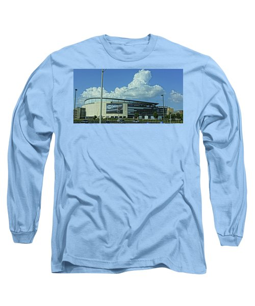Scottrade Center Home Of The St Louis Blues Long Sleeve T-Shirt by Greg Kluempers