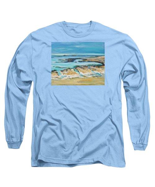 Sea Sky And Beach Long Sleeve T-Shirt