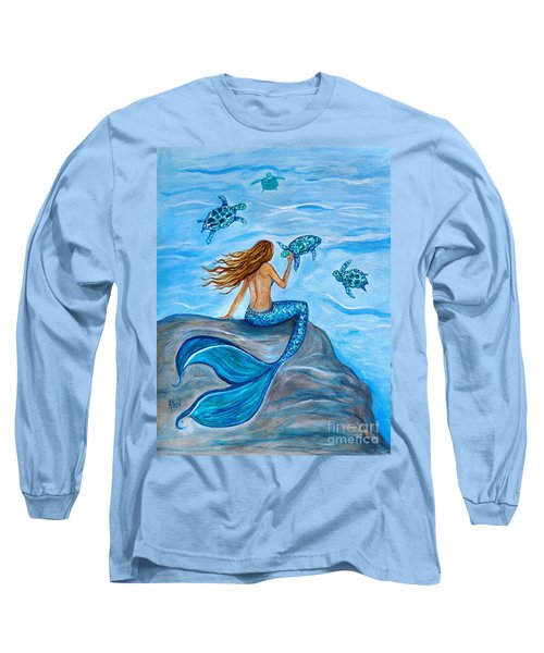 Sea Turtle Friends Long Sleeve T-Shirt
