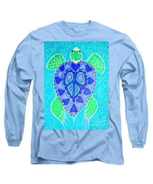 Sea Turtle Swim Long Sleeve T-Shirt