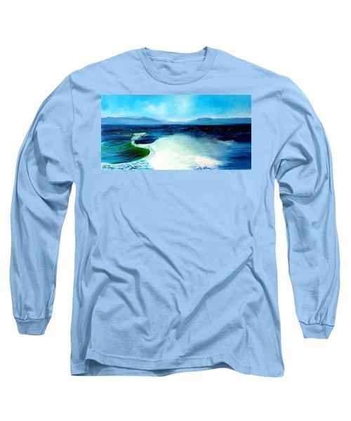 Secret Beach Surf Art Long Sleeve T-Shirt