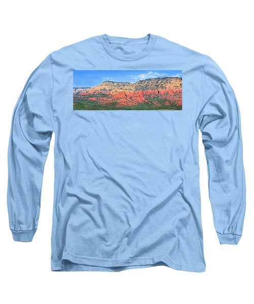 Sedona Landscape Long Sleeve T-Shirt by Jane Girardot