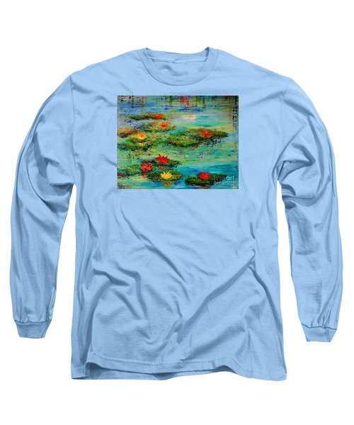 Serene Long Sleeve T-Shirt by Teresa Wegrzyn