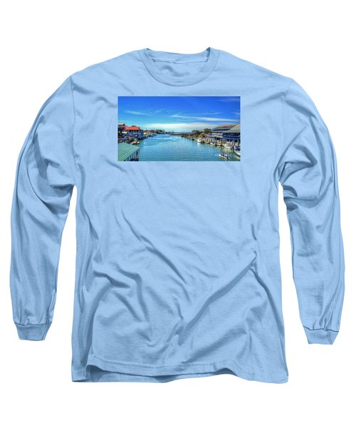Long Sleeve T-Shirt featuring the photograph Shem Creek by Kathy Baccari