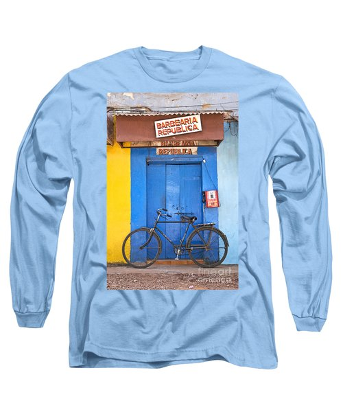 Shop On Street In Goa India Long Sleeve T-Shirt