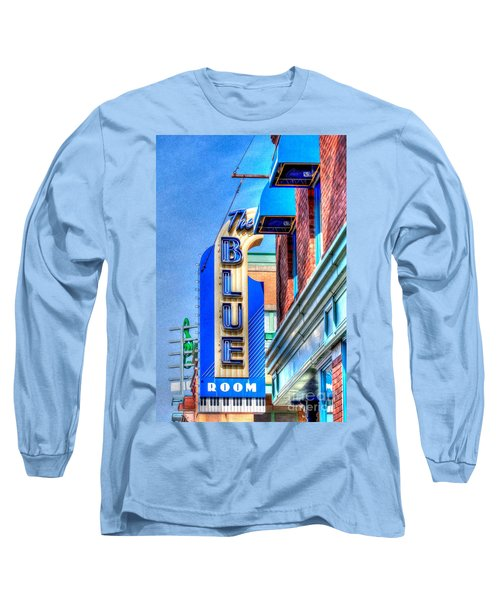 Sign - The Blue Room - Jazz District Long Sleeve T-Shirt