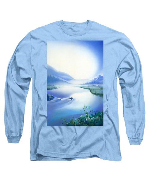 Silence Long Sleeve T-Shirt by Anna Ewa Miarczynska
