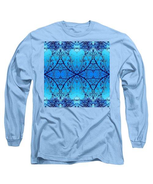Sky Diamonds Abstract Photo Long Sleeve T-Shirt