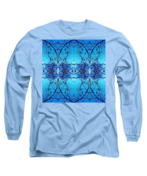 Sky Lace Abstract Photo Long Sleeve T-Shirt