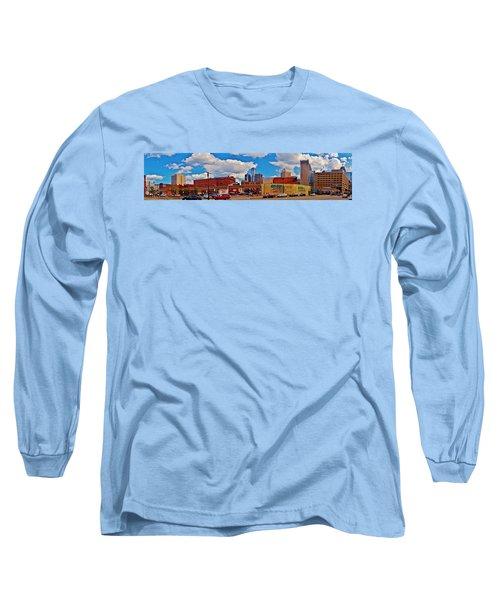 Skyline From The Inside... Detroit Long Sleeve T-Shirt