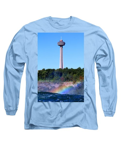Skylon Tower Niagara Falls Long Sleeve T-Shirt