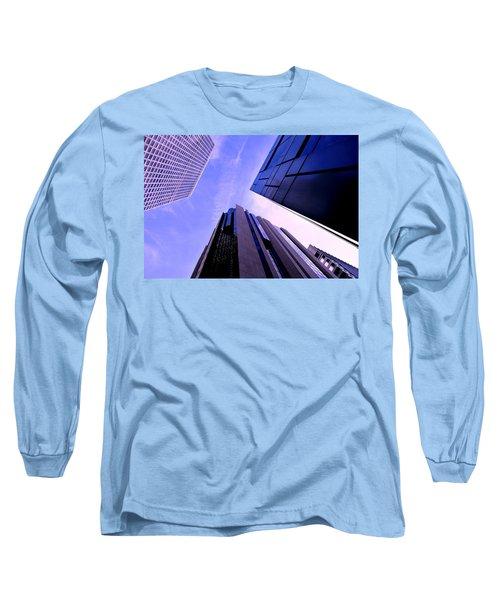 Skyscraper Angles Long Sleeve T-Shirt by Matt Harang