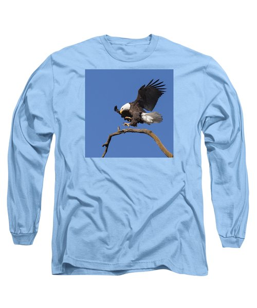 Smooth Landing 6 Long Sleeve T-Shirt by David Lester