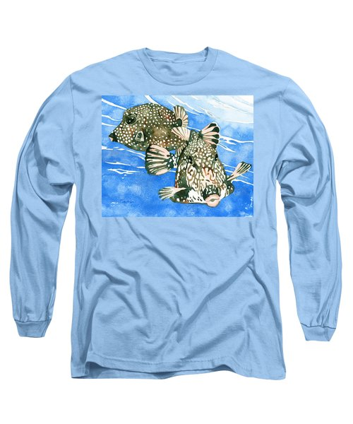 Smooth Trunkfish Pair Long Sleeve T-Shirt