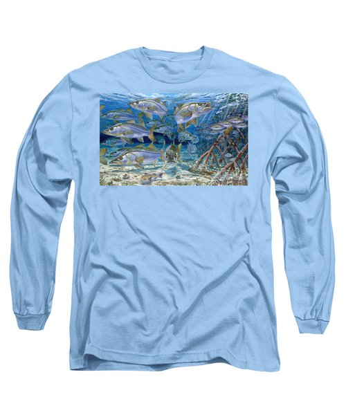 Snook Cruise In006 Long Sleeve T-Shirt by Carey Chen