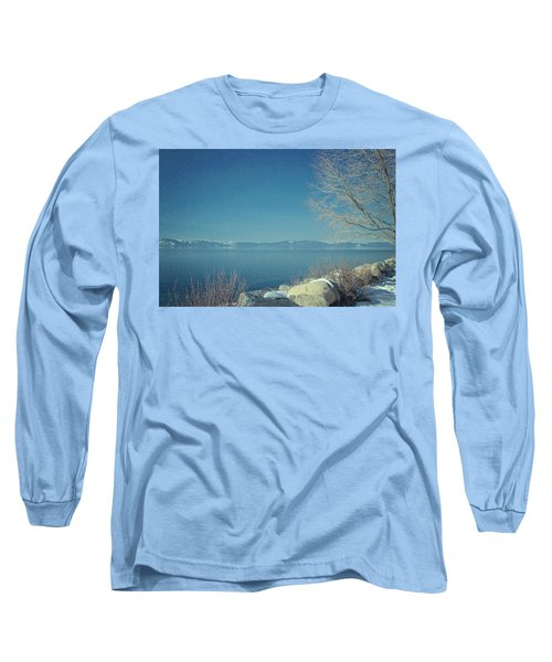 Snowing In Tahoe Long Sleeve T-Shirt