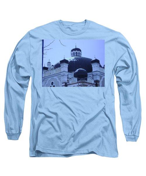 Sofia Synagogue In Bulgaria Long Sleeve T-Shirt