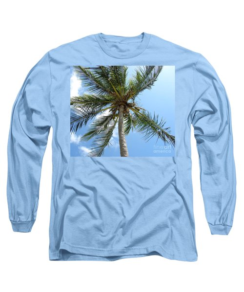 Solitary Palm Long Sleeve T-Shirt