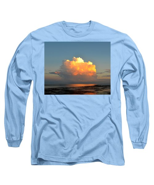 Spectacular Cloud In Sunset Sky Long Sleeve T-Shirt