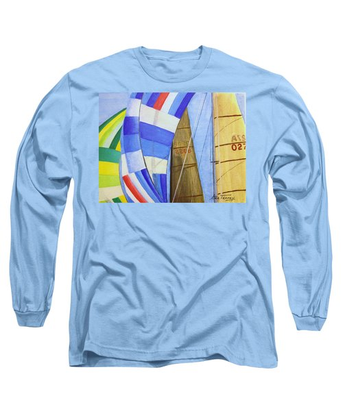 Spinnakers Long Sleeve T-Shirt by Stan Tenney